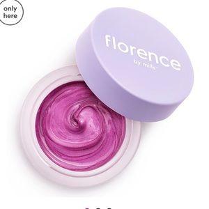 Florence mind glowing peel mask facial lavender
